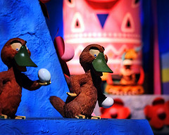 Photo by Express Monorail of It's a Small World