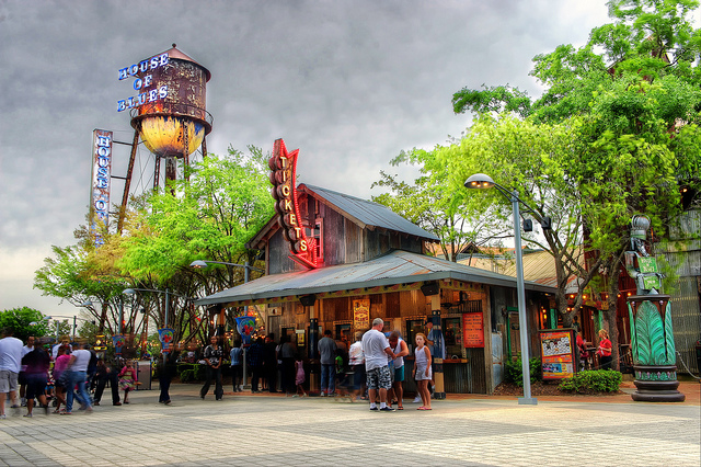 The Ticket stand at House of Blues in Downtown Disney