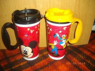 Walt Disney World refillable mugs