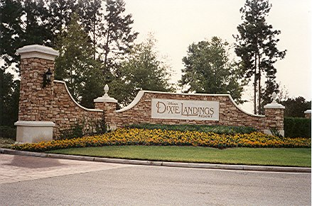 The sign outside Dixie Landings
