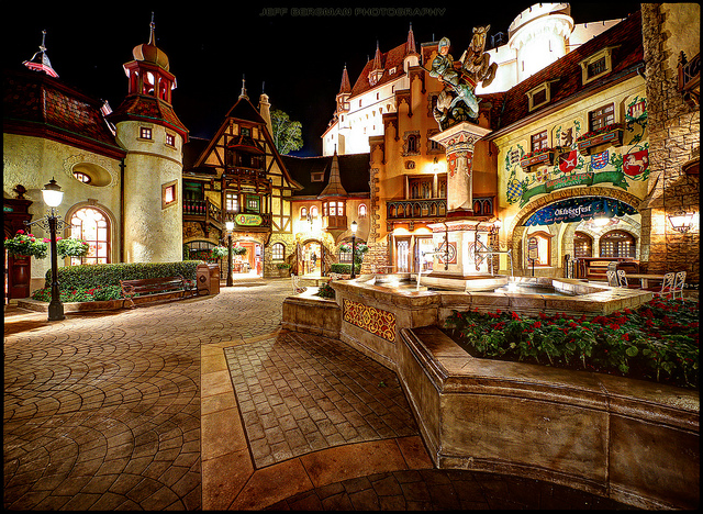 The Germany pavilion in EPCOT
