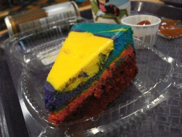Tie Dye Cheesecake! Photo by Stephanie Shuster.