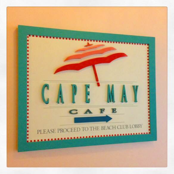 Cape May Cafe awaits steps away from EPCOT!