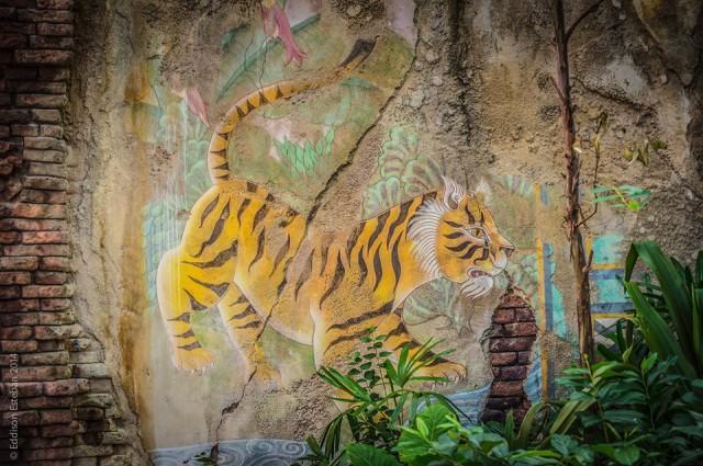 Tigers lurk on The Maharajah Jungle Trek.  Photo by Eddison Esteban.