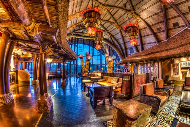 The Animal Kingdom Lodge is a beautiful place - Photo by WDW Shutterbug