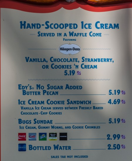 "Get a ""Bug Sundae"" - Photo courtesy of EasyWDW"