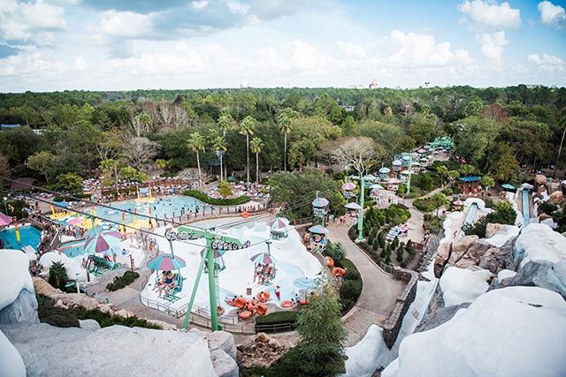 Over look at Blizzard Beach