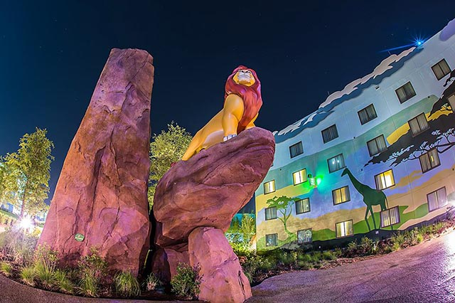 Lion King at the art of animation resort