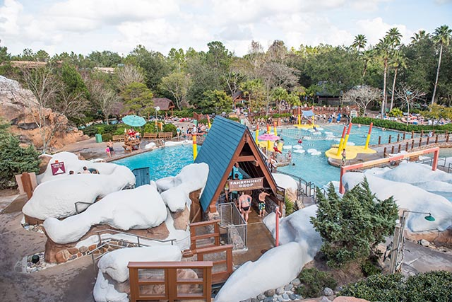 Ski Patrol Area at Blizzard Beach