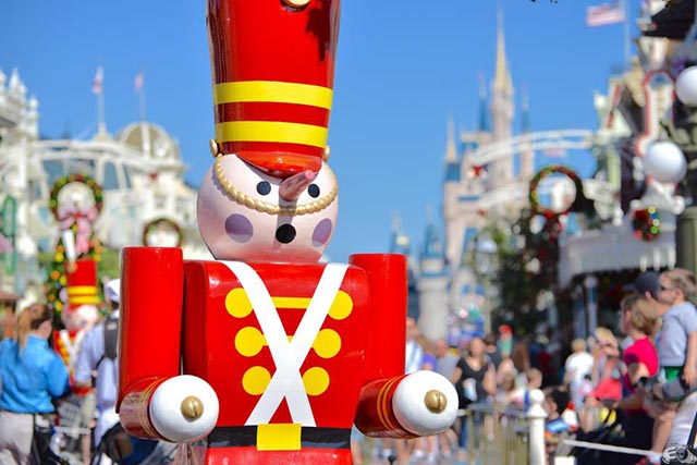 You can see all of the decorations anytime - Photo by WDW Shutterbug