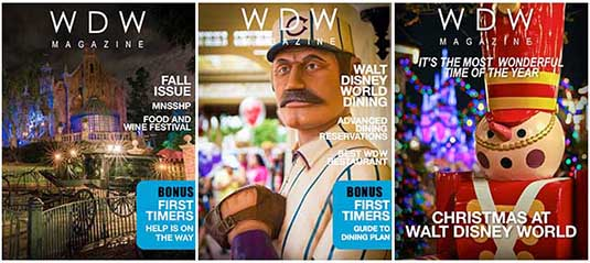 Covers for WDW Magazine