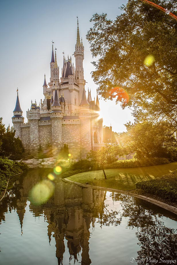 You can see Cinderella Castle in the morning during Dad's 5 best weeks to visit Walt Disney World in 2018.