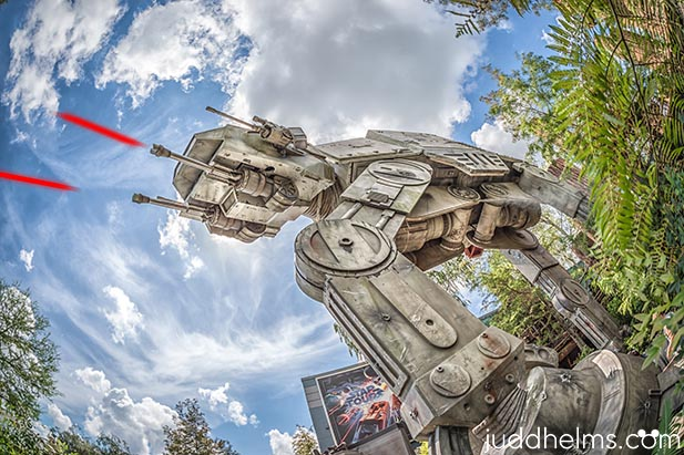 The outside of Star Tours - The Adventure Continues