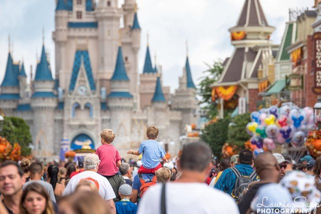 A Perfect Walt Disney World vacation starts on Main Street USA with a look at Cinderella Castle