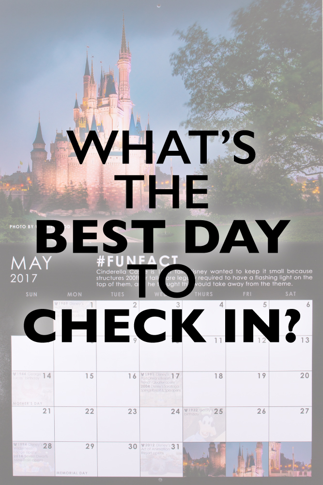 best day to check in