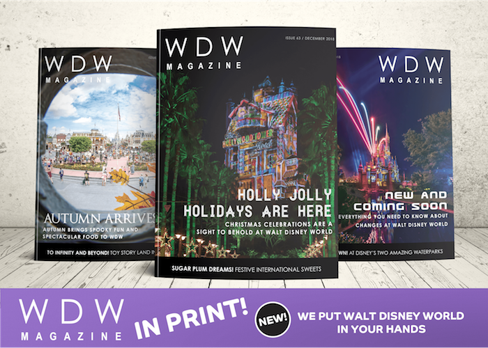WDW Magazine now in print