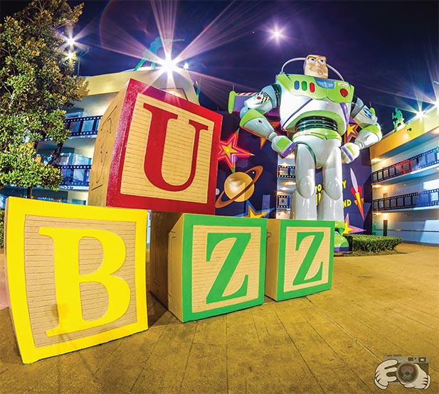 Buzz Lightyear at the All Star Movies