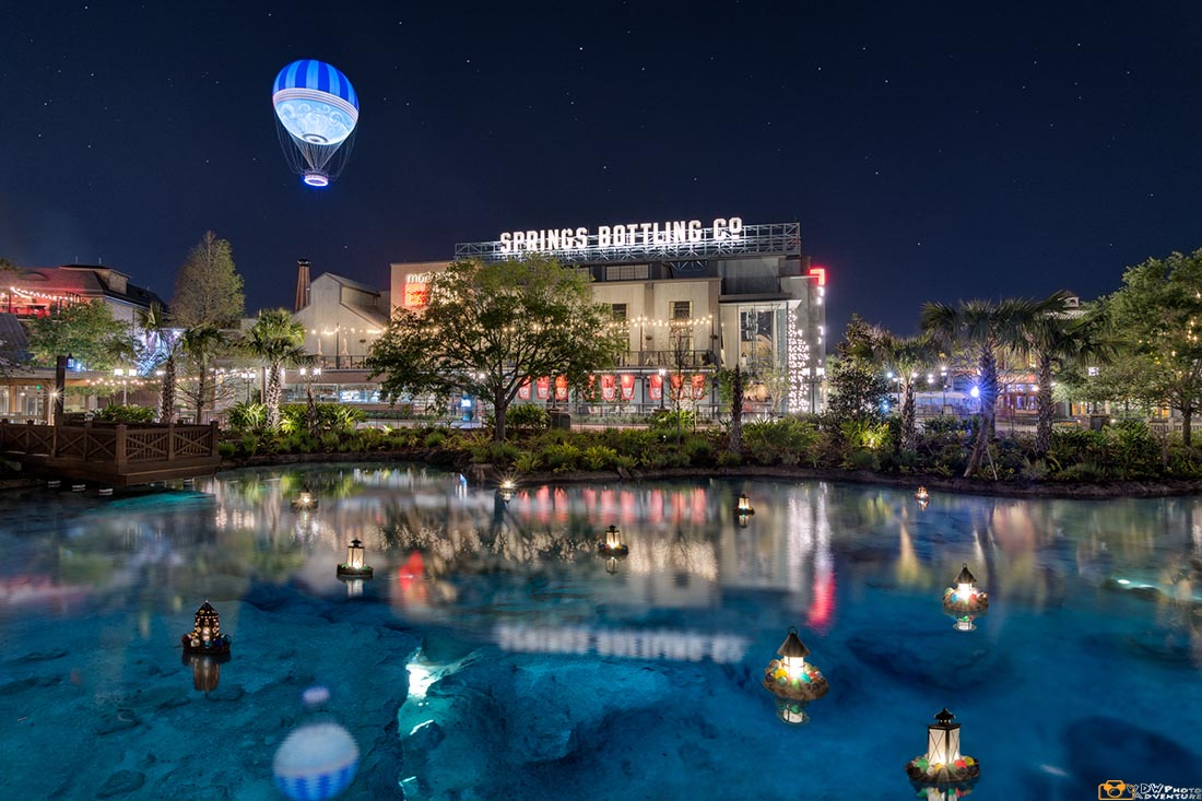 Disney Springs might be an alternative to the parks