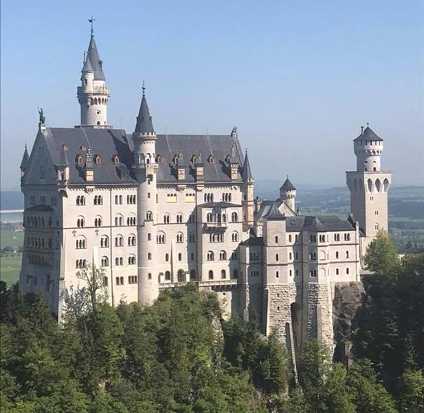 See amazing castles in Germany with Adventures by Disney