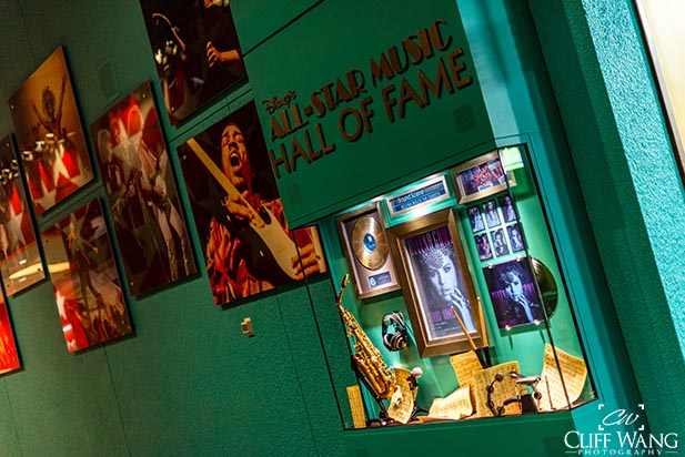 The Wall of Fame at the All Star Music Resort