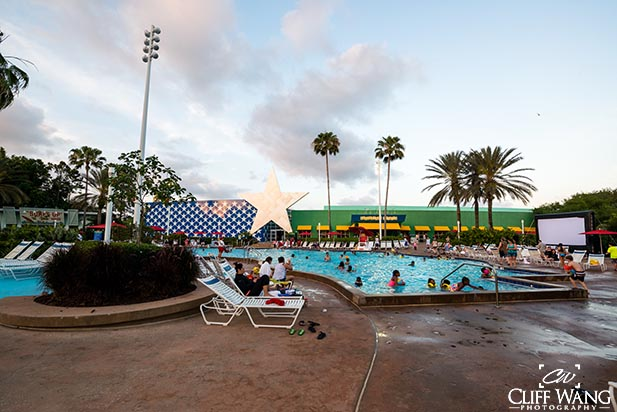 The Piano Pool at Disney All Star Music Resort