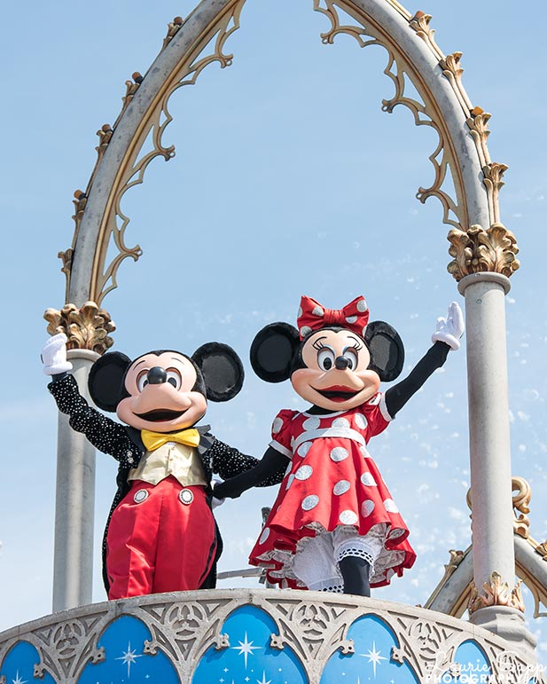 Minnie and Mickey Mouse and yes, it did all start with a mouse
