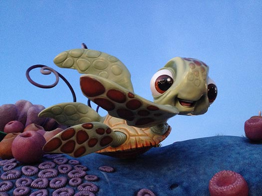 Crush on top of the Art of Animation Resort