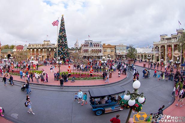 The Magic Kingdom is really special at Christmas