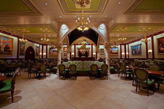 The Rose Gallery Dining Room at Be Our Guest