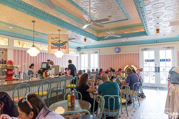 The Look of Beaches and Cream Soda Shop