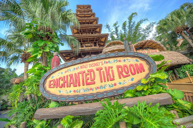 The Enchanted Tiki Room will be a nice place to rest in May