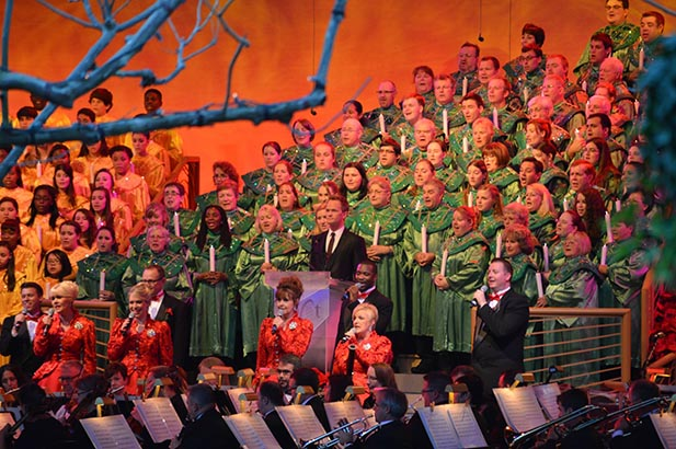 Neil Patrick Harris at the Candlelight Processional