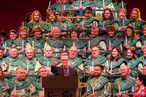 Steven Curtis Chapman at the Candlelight Processional