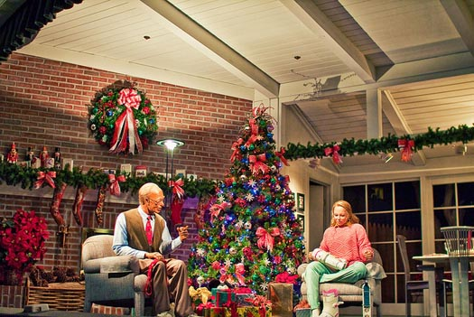 The Christmas scene from the Carousel of Progress