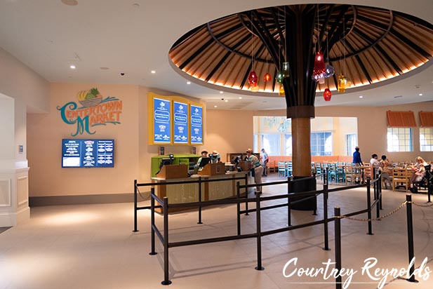 Centertown Market Quick Service in the Caribbean Beach Resort