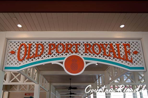 The Entrance to Old Port Royale at Disney's Caribbean Beach Resort