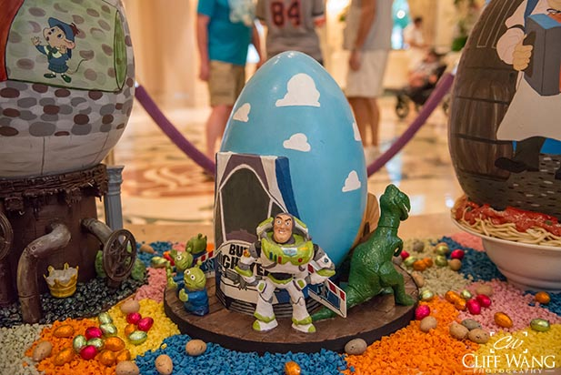 The Buzz Lightyear Easter Egg at the Grand Floridian