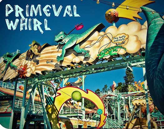 Primeval Whirl at Chester and Hesters Dino Rama
