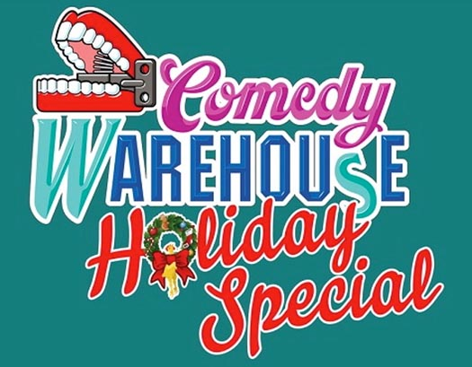 Logo for the Comedy Warehouse Holiday Special