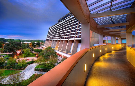 Contemporary Resort and the Garden Wing Rooms