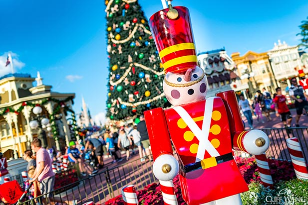 The Toy Soldier on Main Street at Christmas