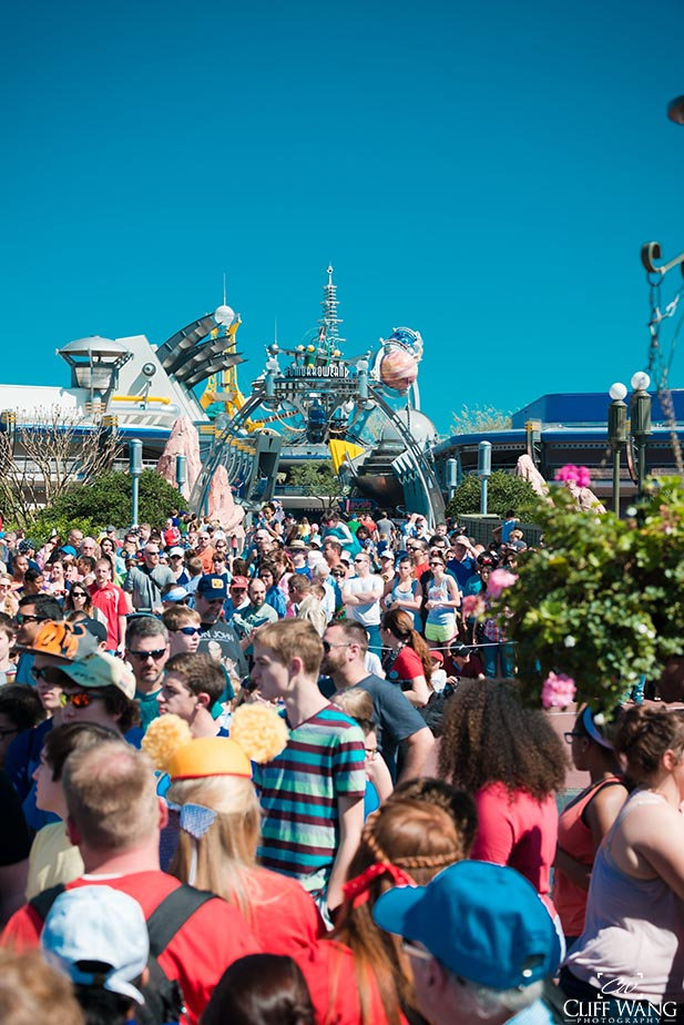 Crowd patterns at Walt Disney World are changing all the time. Soon every day will be packed like this.