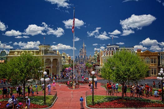If you let Dad book your Disney World Vacation Package you could see Main Street USA in the Magic Kingdom