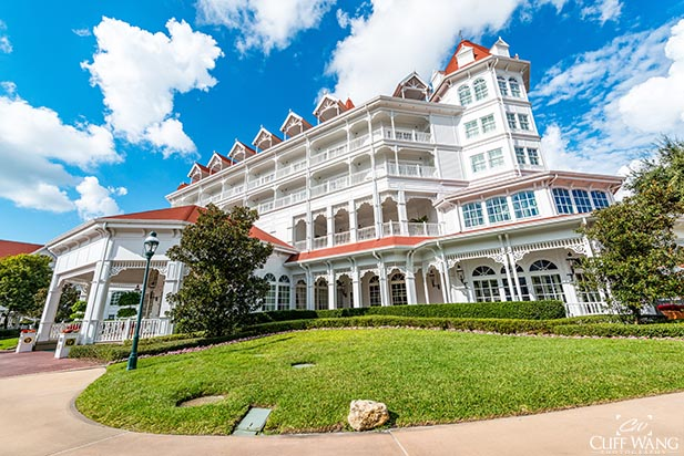 The Grand Floridian is just incredibly majestic and magical
