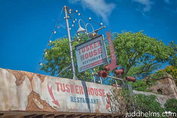 Tusker House breakfast is one of Dad's favorites