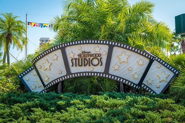 The Sign for Disney's Hollywood Studios