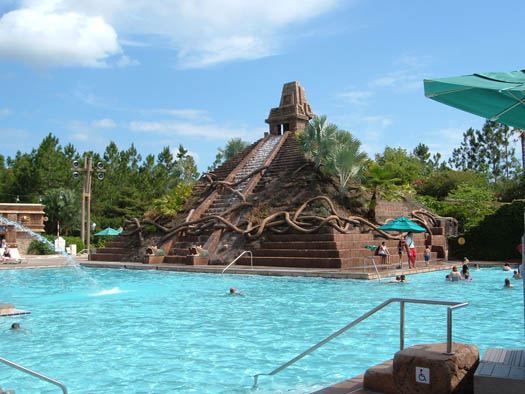 The Maya Pool at Disney Coronado Springs