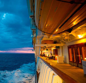 Disney Cruise and Land Vacations - on a cruise
