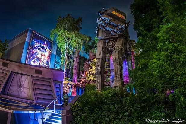 Outside of Star Tours - The Adventure Continues