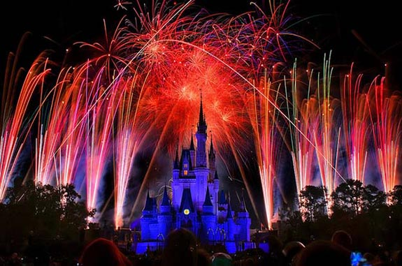 Disney Wishes at the Magic Kingdom